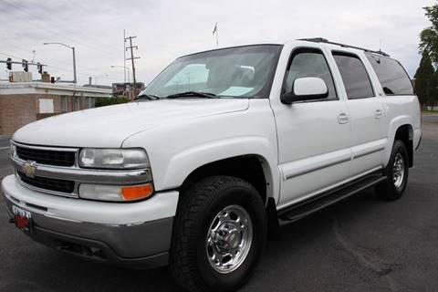 2001 Chevrolet Suburban for sale at Motor City Idaho in Pocatello ID