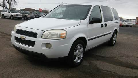 2008 Chevrolet Uplander for sale at Motor City Idaho in Pocatello ID