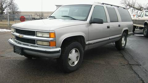 1999 Chevrolet Suburban for sale at Motor City Idaho in Pocatello ID