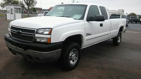 2005 Chevrolet Silverado 2500HD for sale at Motor City Idaho in Pocatello ID