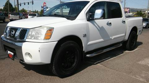 2004 Nissan Titan for sale at Motor City Idaho in Pocatello ID