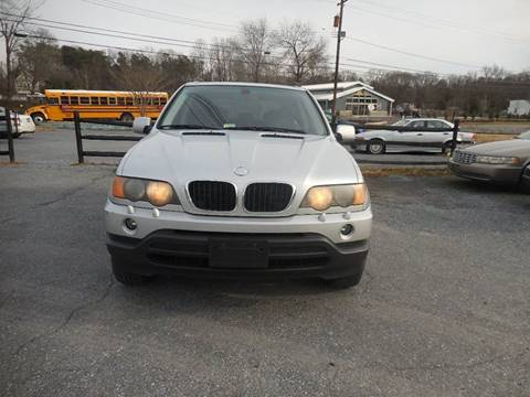 2003 BMW X5 for sale at Galaxy Auto LLC in Millersville MD