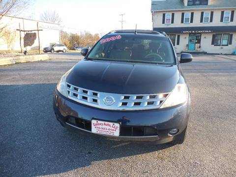 2005 Nissan Murano for sale at Galaxy Auto LLC in Millersville MD