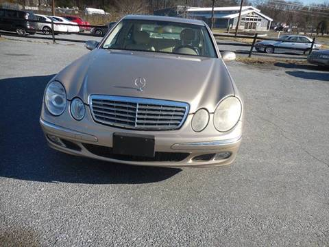 2005 Mercedes-Benz E-Class for sale at Galaxy Auto LLC in Millersville MD
