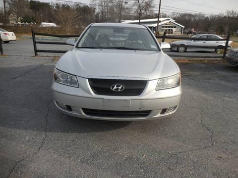 2006 Hyundai Sonata for sale at Galaxy Auto LLC in Millersville MD