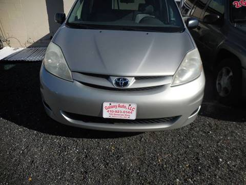 2006 Toyota Sienna for sale at Galaxy Auto LLC in Millersville MD