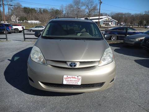 2007 Toyota Sienna for sale at Galaxy Auto LLC in Millersville MD
