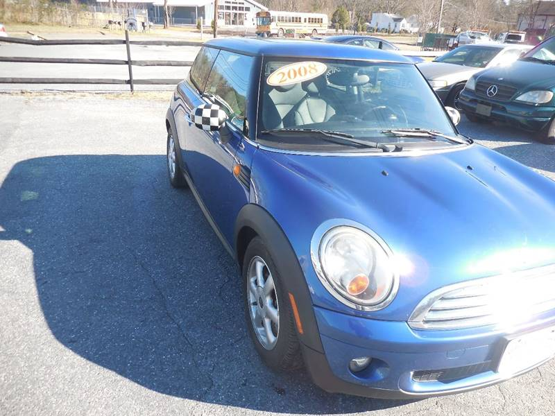 2008 MINI Cooper for sale at Galaxy Auto LLC in Millersville MD