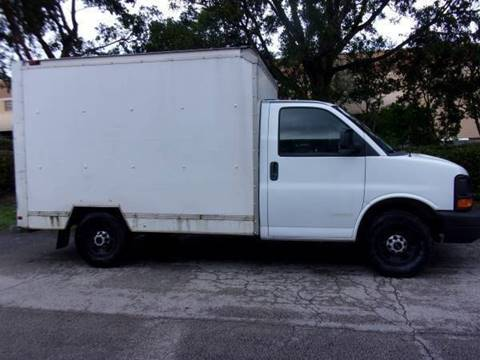 2012 GMC Savana Cutaway for sale at Tropical Motors Cargo Vans and Car Sales Inc. in Pompano Beach FL