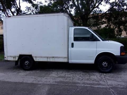 2012 GMC Savana Cutaway for sale at Tropical Motors Cargo Vans and Car Sales Inc. in Pompano Beach FL