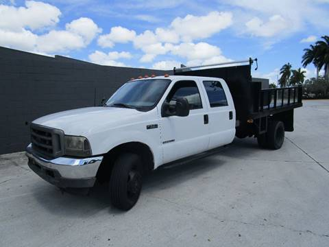 2001 Ford F-550 for sale in Pompano Beach, FL