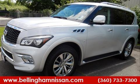 2016 Infiniti QX80 for sale in Bellingham, WA