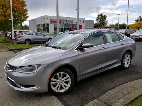 2015 Chrysler 200 for sale in Bellingham, WA