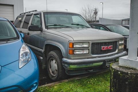 1999 GMC Suburban for sale in Bellingham, WA