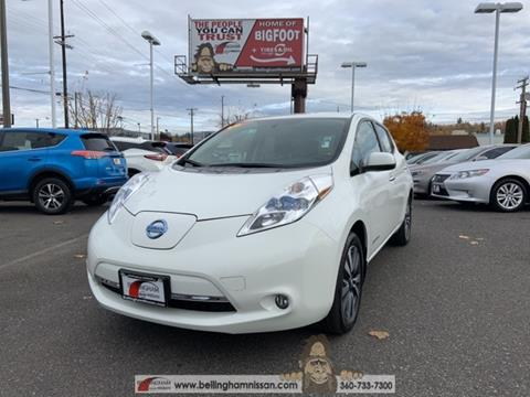 2016 Nissan LEAF for sale in Bellingham, WA