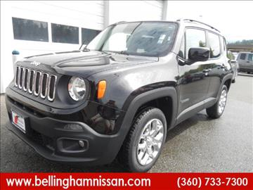 2016 Jeep Renegade for sale in Bellingham, WA