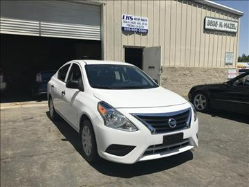 2015 Nissan Versa for sale at LKS Auto Sales in Fresno CA