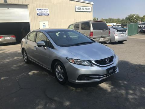 2014 Honda Civic for sale at LKS Auto Sales in Fresno CA