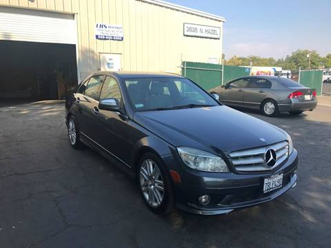 2008 Mercedes-Benz C-Class for sale at LKS Auto Sales in Fresno CA