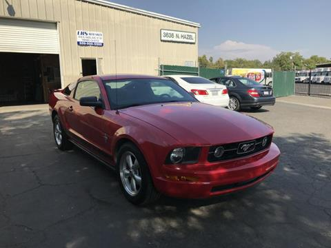 2007 Ford Mustang for sale at LKS Auto Sales in Fresno CA