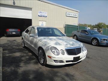2007 Mercedes-Benz E-Class for sale at LKS Auto Sales in Fresno CA