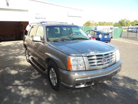 2003 Cadillac Escalade for sale in Fresno, CA