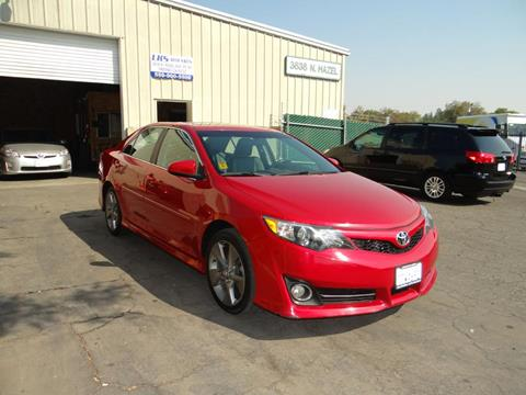 2012 Toyota Camry for sale at LKS Auto Sales in Fresno CA