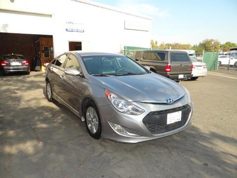 2013 Hyundai Sonata Hybrid for sale in Fresno, CA