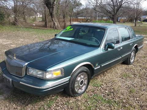 1996 Lincoln Town Car for sale in Burnet, TX