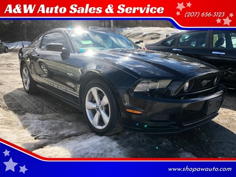 2014 Ford Mustang for sale in Richmond, ME