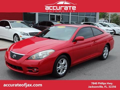 2008 Toyota Camry Solara for sale in Jacksonville, FL