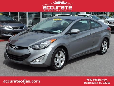 2013 Hyundai Elantra Coupe for sale in Jacksonville, FL