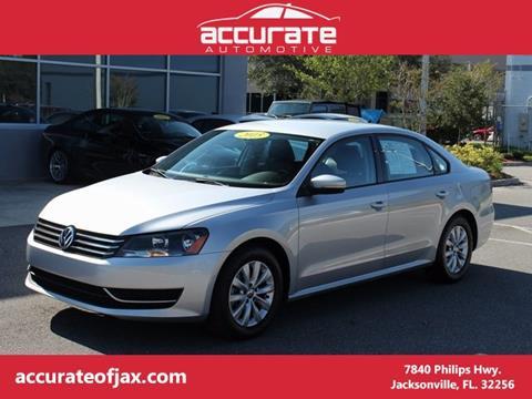 2015 Volkswagen Passat for sale in Jacksonville, FL