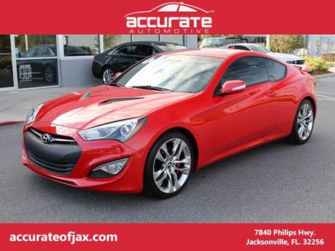 2013 Hyundai Genesis Coupe for sale in Jacksonville, FL