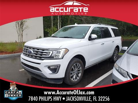 2018 Ford Expedition MAX for sale in Jacksonville, FL
