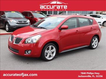 2009 Pontiac Vibe for sale in Jacksonville, FL