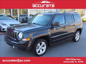 2014 Jeep Patriot for sale in Jacksonville, FL