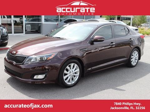 2014 Kia Optima for sale in Jacksonville, FL