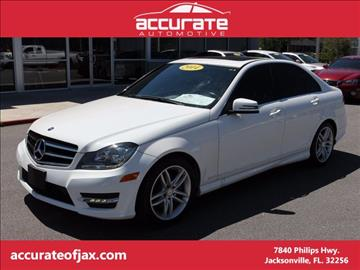 2014 Mercedes-Benz C-Class for sale in Jacksonville, FL
