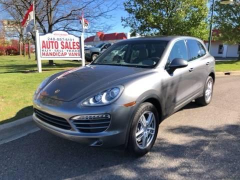 2012 Porsche Cayenne for sale in Milford, MI