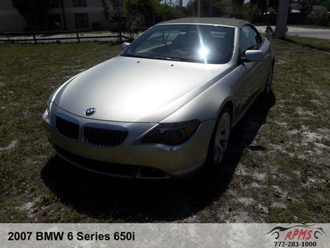 2007 BMW 6 Series for sale in Stuart, FL