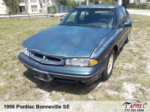 1998 Pontiac Bonneville for sale in Stuart, FL