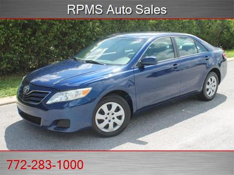 2010 Toyota Camry for sale in Stuart, FL
