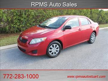 2009 Toyota Corolla for sale in Stuart, FL