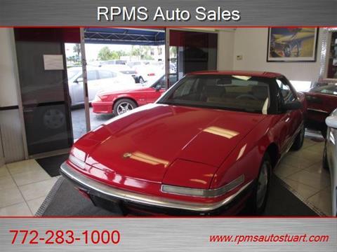 1989 Buick Reatta for sale in Stuart, FL