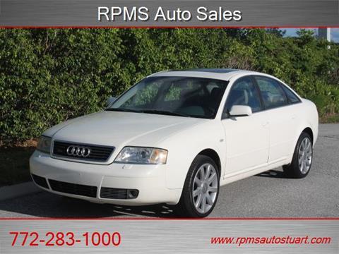 2001 Audi A6 for sale in Stuart, FL