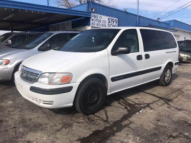 2003 Chevrolet Venture Ls 4dr Extended Mini Van In Haltom City Tx