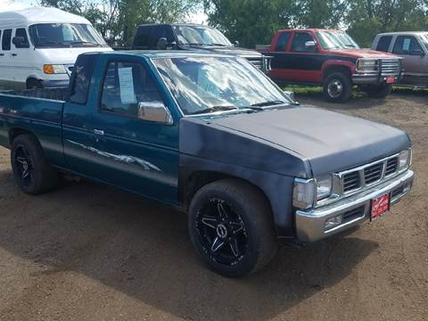 1995 Nissan Truck for sale at BARNES AUTO SALES in Mandan ND