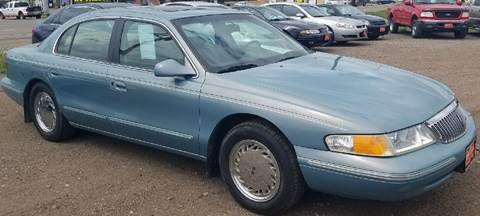1996 Lincoln Continental for sale at BARNES AUTO SALES in Mandan ND