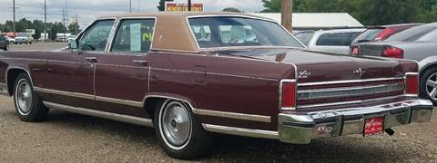 1979 Lincoln Town Car for sale at BARNES AUTO SALES in Mandan ND